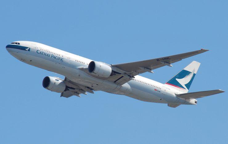 Gegevens 9,4 miljoen reizigers Cathay Pacific op straat