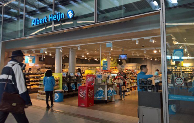Albert Heijn test winkel met sensoren en camera's, maar zonder kassa