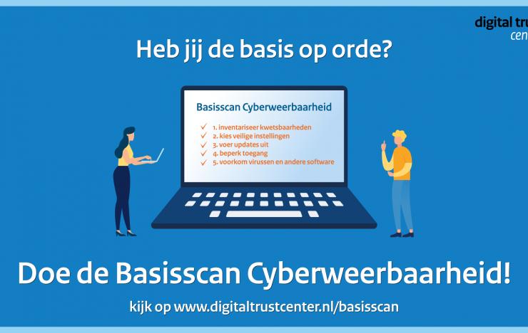Het DTC lanceert de Basisscan Cyberweerbaarheid